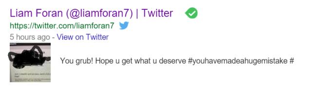 liam foran twitter