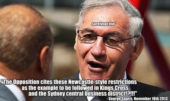 George Souris hypocrite 2